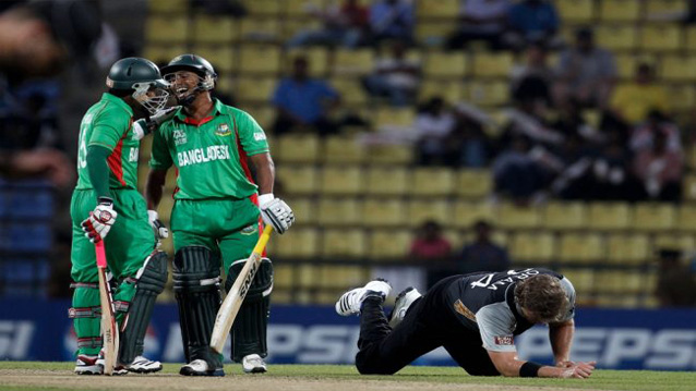 Bangladesh v New Zealand T20 worldcup 2012 match pictures