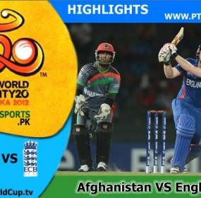 Afghanistan v England Highlights