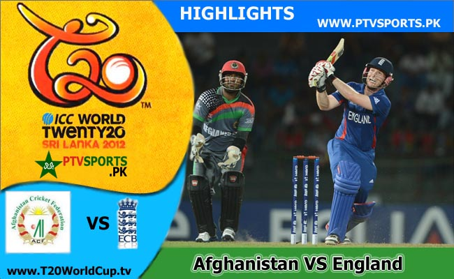 Afghanistan v England Highlights