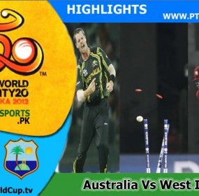 Australia v West Indies Highlights