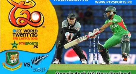 Bangladesh Vs New Zealand Highlights