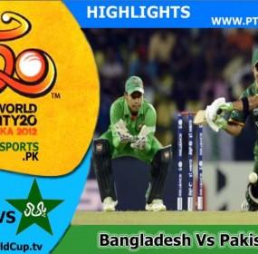 Bangladesh Vs Pakistan Highlights