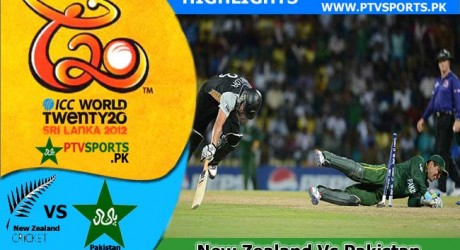 New Zealand Vs Pakistan Highlights