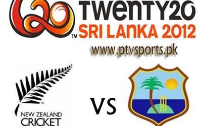 New Zealand Vs West Indies