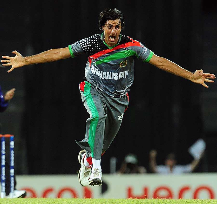 Shapoor Zadran dismissed India's openers, Afghanistan v India, World T20 2012
