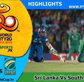 Sri Lanka v South Africa Highlights