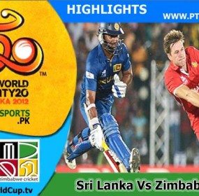 Sri lanka vs Zimbabwe Highlights