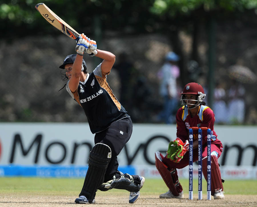 Suzie Bates top-scored for New Zealand with 32, New Zealand v West Indies