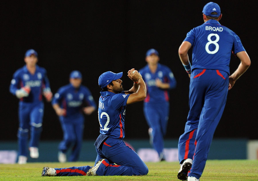 Things quickly got worse for Afghanistan as Shafiqullah was caught first ball
