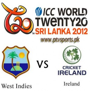 West Indies vs Ireland