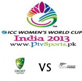 Australia Women v New Zealand Women Match