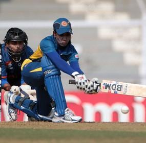 Deepika Rasangika scored 84 to help set up a strong total, India v Sri Lanka, Women's World Cup 2013