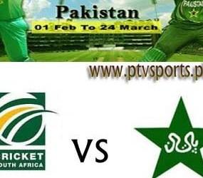 Pakistan Vs South Africa Cricket 2013