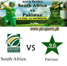 Pakistan Vs South Africa 1st T20I Cricket 2013