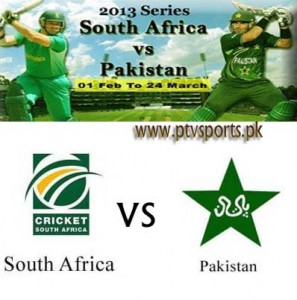 Pakistan Vs South Africa 3rd ODI Cricket 2013