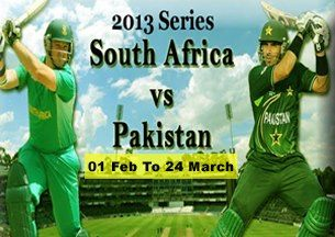Pakistan vs South Africa 2013 Series Live