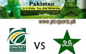 Pakistan Vs South-Africa ODI Cricket Match