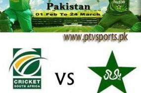 Pakistan Vs South Africa 2nd ODI Cricket Match