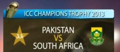 Pak vs SA CT 2013