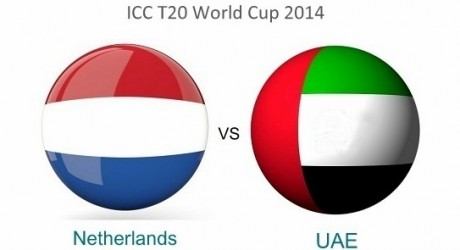 Netherlands vs UAE T20 World Cup 2014 Live Streaming Detail