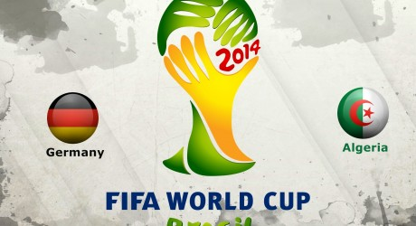 Germany Vs Algeria FIFA World Cup 2014 Second Stage Wallpaper