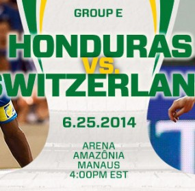 Hondura Vs Switzerland Football World Cup Live