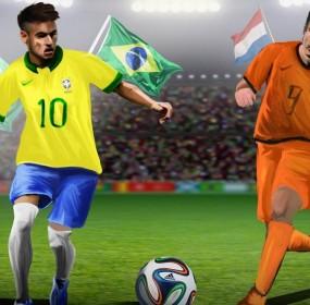 Brazil vs Netherlands FIFA World Cup Live
