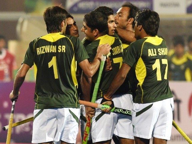 Pakistan V India Semi Final Hockey Champions Trophy 2014 Pictures