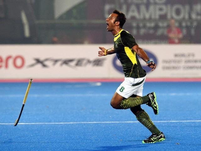 PAK V IND India Semi Final Hockey Champions Trophy 2014 Photosq