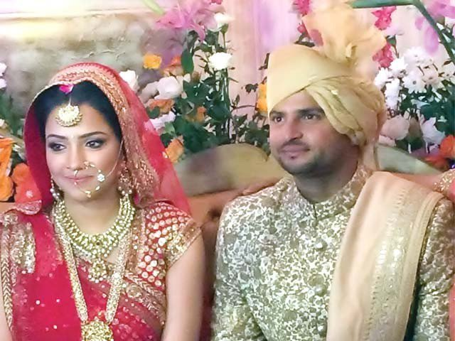 Suresh Raina Wedding Pictures
