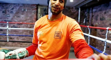 Amir Khan Boxing Practice Pictures Gallery