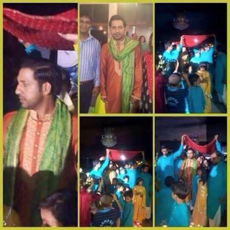 Sarfaraz Ahmed Wedding Pictures