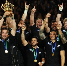 Rugby World Cup France v New Zealand