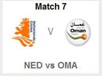 Netherlands vs Oman
