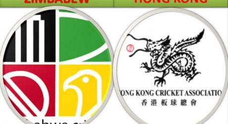 Zimbabwe vs Hong Kong