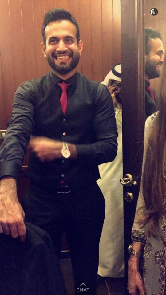 Irfan Pathan Amp Safa Baig Wedding Pictures