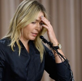 Maria Sharapova's Drug Test failed at Australian Open