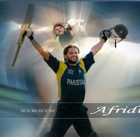 Boom Boom Shahid Afridi