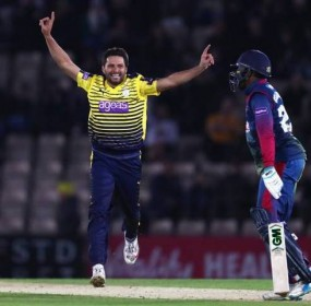 Afridi back in phenomenal form for Hampshire