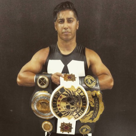 First Pakistani Wrestler To Compete In Wwe