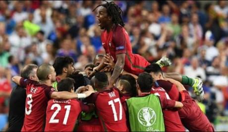 Portugal won Euro Cup final