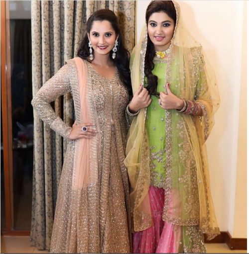 Pictures of Sania Mirza's Sister Wedding