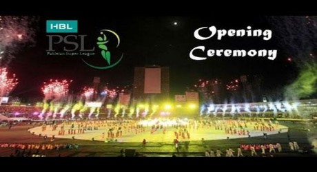 Opening Ceremony of PSL 2017