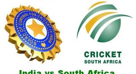 South Africa v India