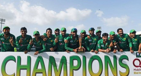 Pak Beat West Indies in ODI Series 2017
