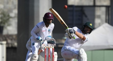 Pak Cricket Team Plays Slow Against West Indies