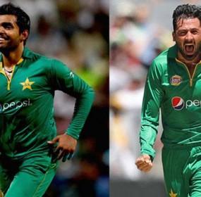 Junaid and Umar Akmal