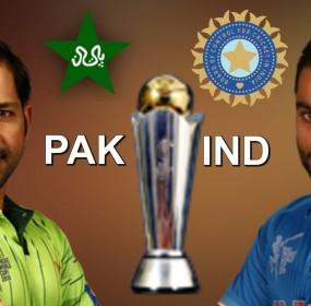 PAk vs Ind Match ICC Champion Trophy 2017 Live details