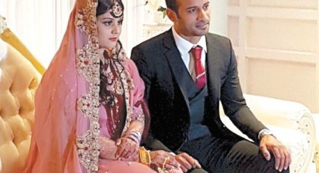 Hockey Star Irfan Weds in UK