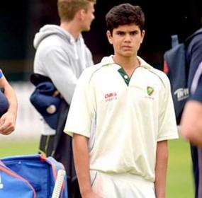 Son of Sachin Tendulkar Injured Johnny Bairstow 1